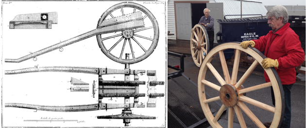 French Limoniere Cannon